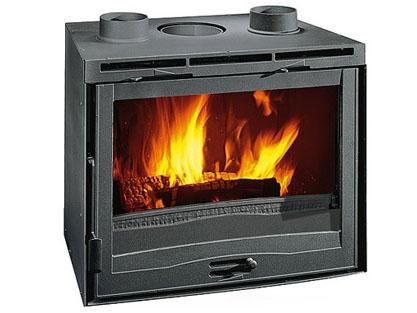 kamin na drva ugradbeni 12 8 kw la nordica inserto 70 s ventilatorom. Black Bedroom Furniture Sets. Home Design Ideas