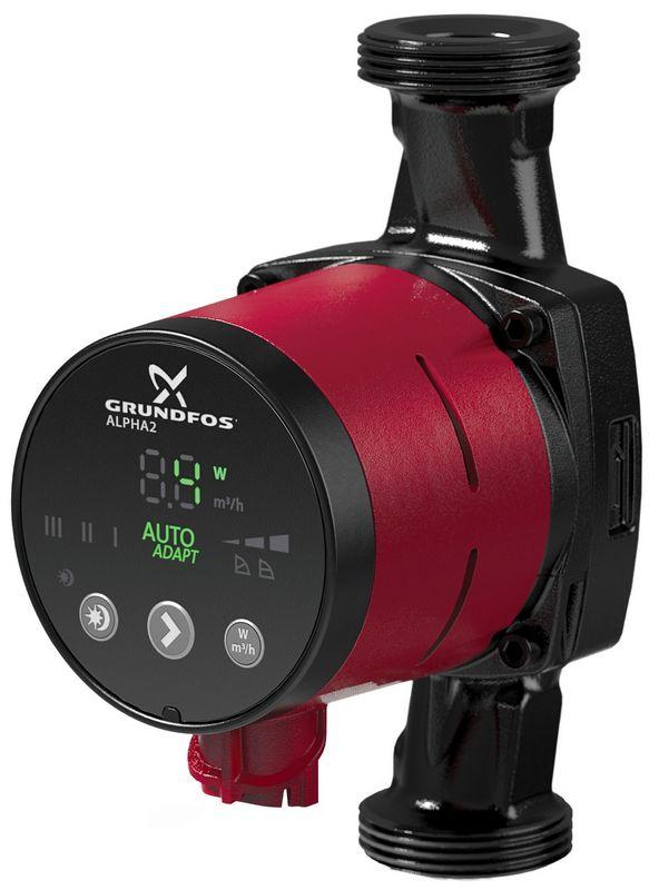 cirkulacijska pumpa za centralno grijanje 25 40 grundfos alpha 2. Black Bedroom Furniture Sets. Home Design Ideas