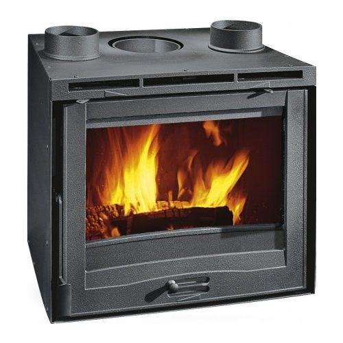 kamin na drva ugradbeni 8 6 kw la nordica inserto 60 s ventilatorom. Black Bedroom Furniture Sets. Home Design Ideas